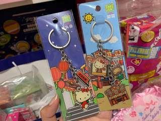 🚚 hello kitty x taipei landmarks keychains