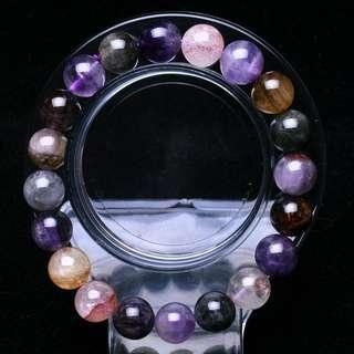 Auralite 23 Canada Crystal Bracelet 10mm