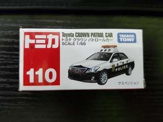 Tomica No.110 Toyota Crown Patrol Car