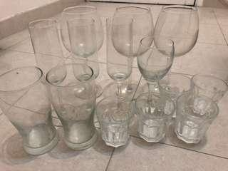 [Free] Wine Glasses 酒杯 玻璃杯
