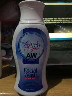 Face wash acne delovely FULL