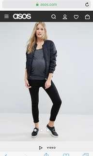 🚚 New Look Maternity under the bump skinny jegging in black