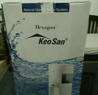 Hexagon water system