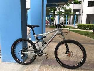 Carbon USA Cannondale Lefty mountain bike