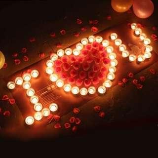 Romantic Candles Set Up Tools