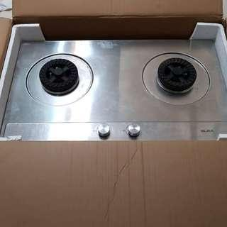 Built In Stainless Steel Hob (Used)