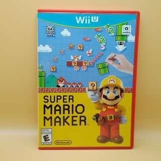 (Free postage) Super Mario Maker for Wii U (WiiU)