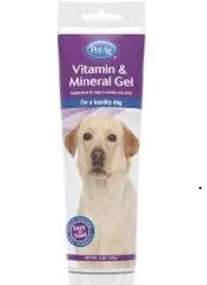 PetAg vitamin & mineral gel dog supplement
