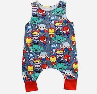 🚚 Various Characters Baby Rompers
