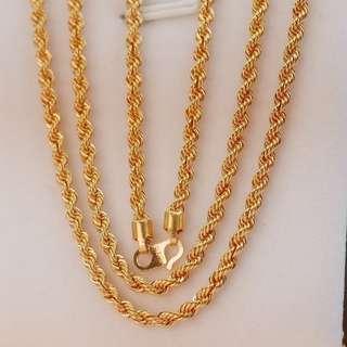 916 Gold Necklace (RL PINTAL)