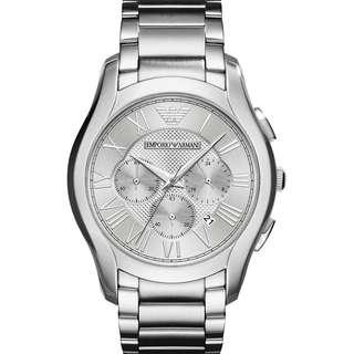 f05730650a7e Emporio Armani Mens Chronograph Quartz Watch with Stainless Steel Strap  AR11081