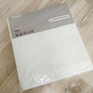 Ikea Dvala bedsheet (New,  Unopened, QUEEN size)