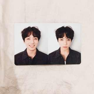 BTS Jungkook Love Yourself 'R' Version Photocard