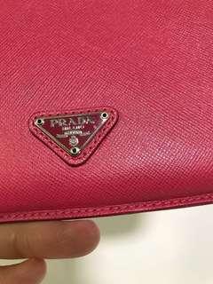 Authentic Prada Saffiano Leather Ipad Mini Case - Red for ipad mini 2/3
