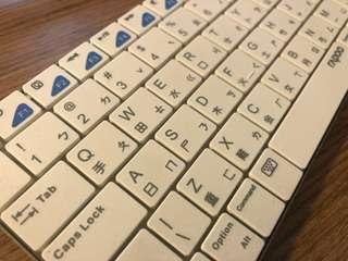 Rapoo wireless 鍵盤 keyboard