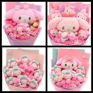 Melody / Stitch / Pooh / Eeyore / Tigger / Piglet / One Piece / Mickey / Minnie Bouquet
