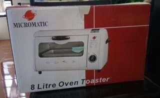 (NEW) Oven Toaster 8L