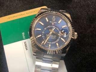 Rolex 326934 blue sky dweller