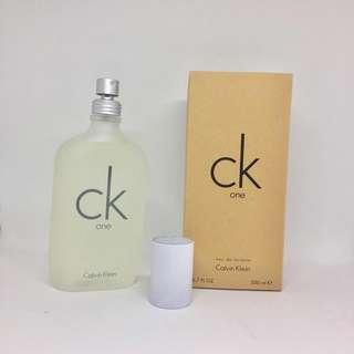 CK One Perfume - 200ml