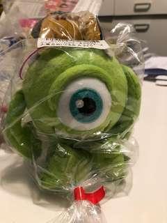 Monster Inc 單眼仔公仔 Mike 怪獸大學怪獸公司