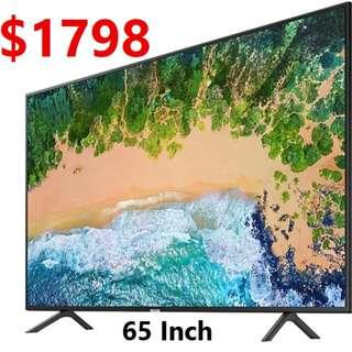 Samsung 65 inch UHD 4k Smart Tv NU7100 7 series