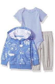 🚚 Carter's Baby Boy Set - Blue