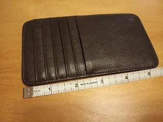 真皮信用卡套 3x5.5吋