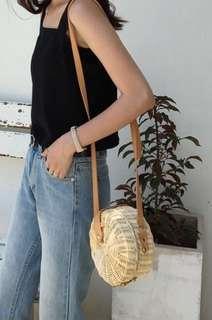Rattan beach Slings bag
