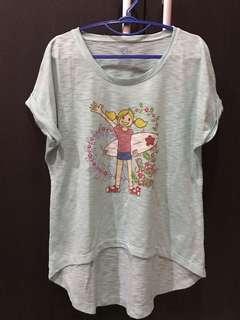 SALE❗️Surfer girl tosca crop shirt