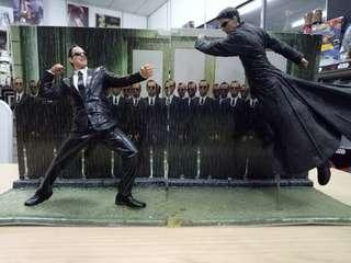 The Matrix Neo VS Agent Smith