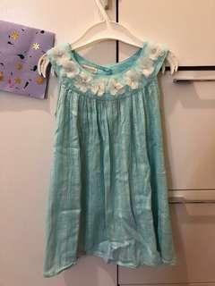 MONSOON 藍色連身裙