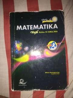 Buku Matematika Kelas 11 SMA