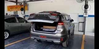 Proton x70 auto tail gate