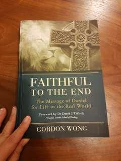 🚚 Fatihful to the End Bible Commentary on Isaiah by Gordon Wong
