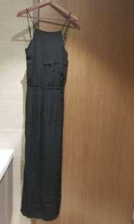 #Endgameyourexcess Monrow black slit maxi dress
