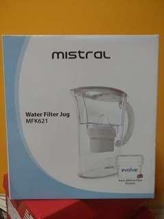 Mistral Water Filter Jug MFK621