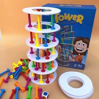 READY STOCK Tower Collapse Family Game