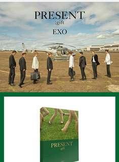 EXO PRESENT; gift Photobook