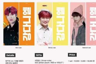 🚚 [Sharing] [SG PO] for vivadaniel96 ONE AND ONLY, I'VE NEVER MET Slogan