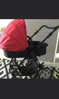 FREE Buggy Board - Vetro Sweet Cherry stroller