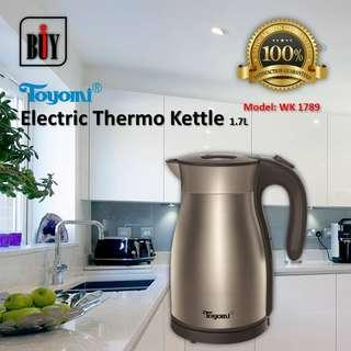TOYOMI Thermo Kettle 1.7L - WK 1789