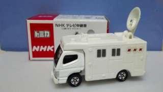 NHK Satellite Relay Truck 衛星通迅車 Mitsubishi Fuso Canter Takara Tomica Tomy