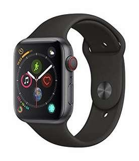 全新 Apple Watch Series 4 (GPS + Cellular, 44mm) - Space Gray