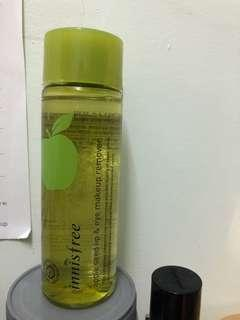 Innisfree apple seed lip eye makeup remover