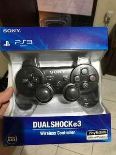 Stick wireless PS3 new. Batal pakai