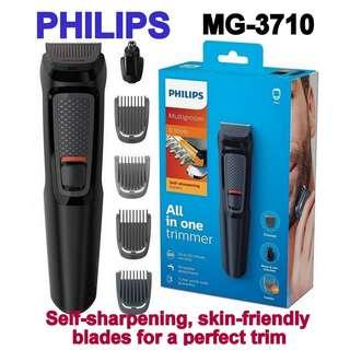Philips Multigroom MG3710 TRIMMER (3 years world-wide guarantee from philips)