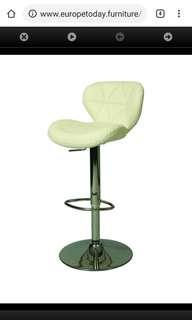 Bar Stool by Aegean - (Ivory ice cube color)