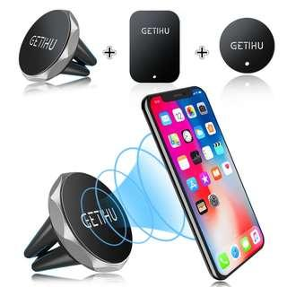 GETIHU Car Phone Holder Magnetic Air Vent Mount Mobile Smartphone Stand Magnet Support Cell in Car
