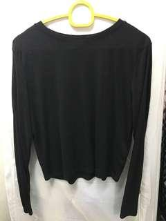 H&M basic Black Top