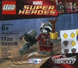 Lego 2014 Marvels - Guardian of the Galaxy - 5002145 Rocket Raccoon Polybag